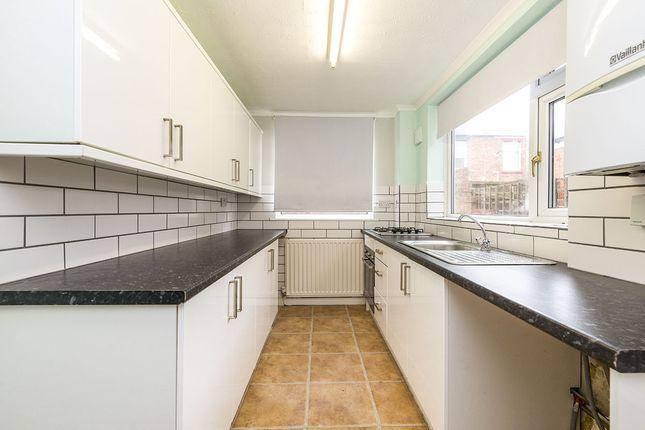 Kitchen of Frances Terrace, Bishop Auckland, County Durham DL14
