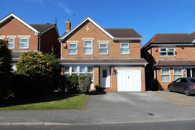 Thumbnail Detached house for sale in Cramfit Crescent, Dinnington, Sheffield