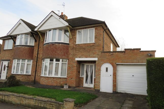 3 Bed Semi Detached House For Sale In Valentine Road, Off Uppingham Road,