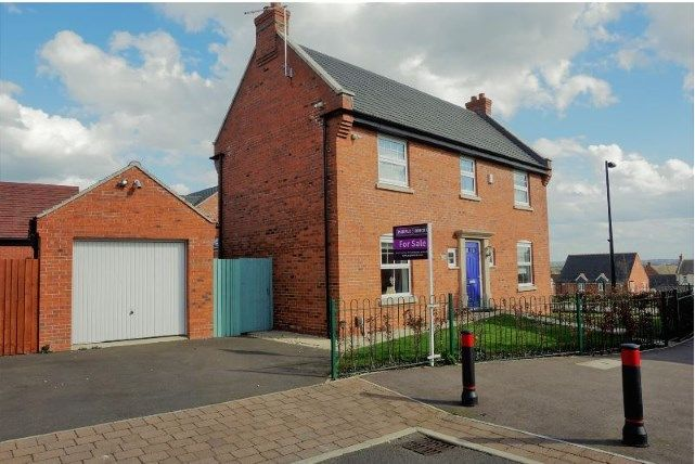 Thumbnail Detached house for sale in Kevin Wood Close, Birstall, Leicestershire