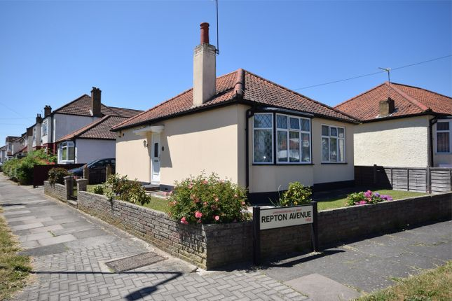 Thumbnail Detached bungalow for sale in Rugby Avenue, Wembley, Middlesex