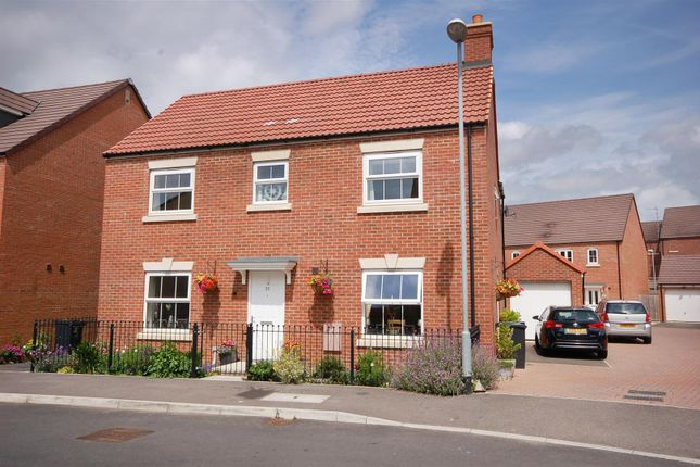 Thumbnail Detached house for sale in Lossiemouth Road Kingsway, Quedgeley, Gloucester