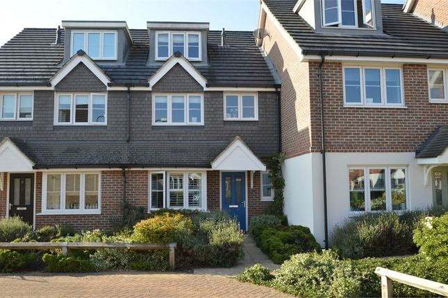 Terraced house for sale in Swansmere Close, Walton-On-Thames, Surrey