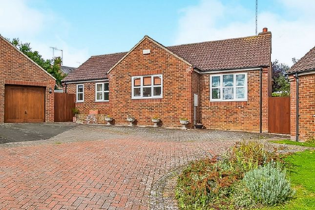 Thumbnail Detached bungalow for sale in Orchard Close, Oundle, Peterborough