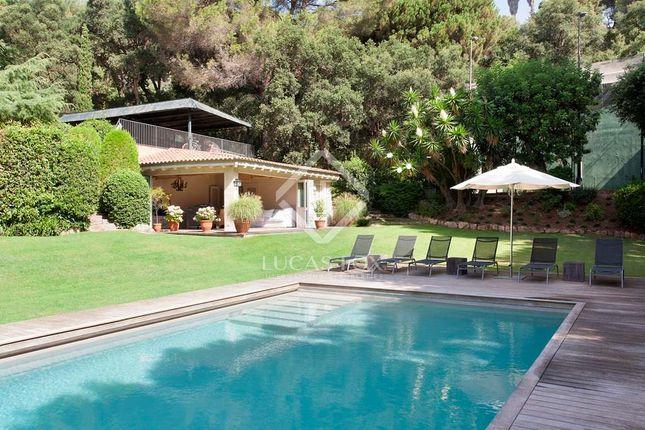 Thumbnail Villa for sale in Spain, Barcelona North Coast (Maresme), Sant Andreu De Llavaneres, Lfs4357