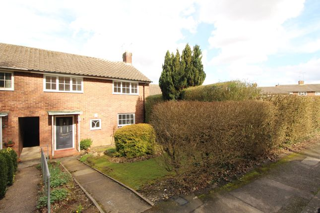 Thumbnail Terraced house to rent in Mayfield, Welwyn Garden City