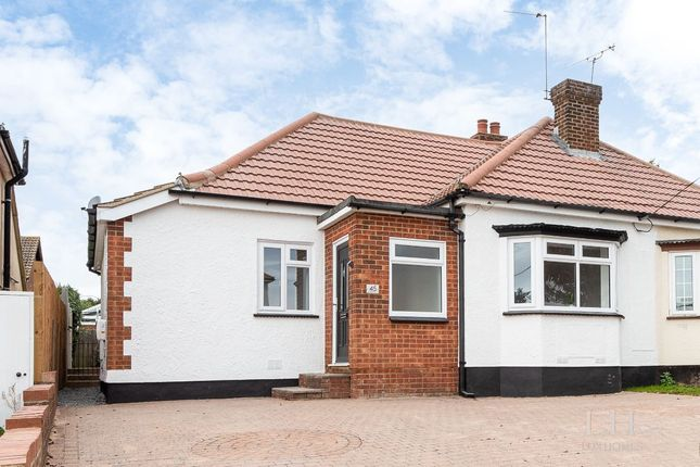 3 bed bungalow for sale in Brackendale Avenue, Pitsea, Basildon SS13