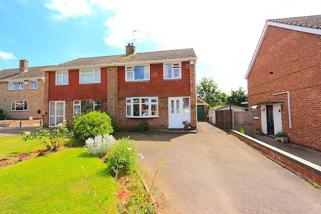 Thumbnail Semi-detached house for sale in Brooklands Road, Cosby, Leicester