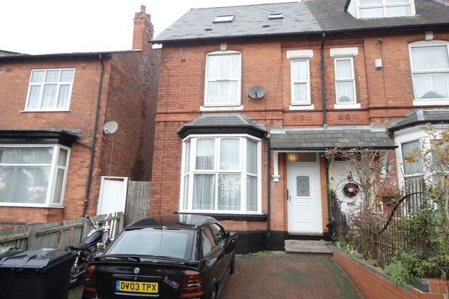 Thumbnail Flat to rent in Grove Hill Road, Handsworth, Birmingham