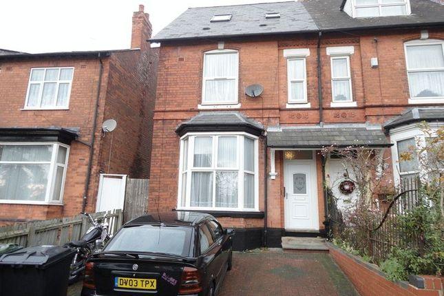Thumbnail Flat to rent in Grove Hill Road, Handsworth, Birmingham