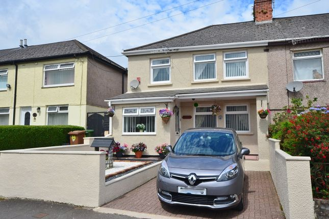 Thumbnail Semi-detached house for sale in First Avenue, Caerphilly