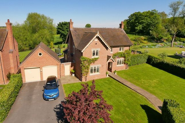 Thumbnail Detached house for sale in Cound Park Drive, Cound, Shrewsbury