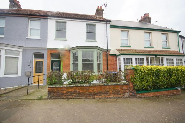 Thumbnail Terraced house to rent in Victoria Avenue, Margate