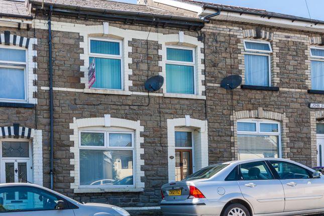 Thumbnail Terraced house for sale in John Street, Pontypool