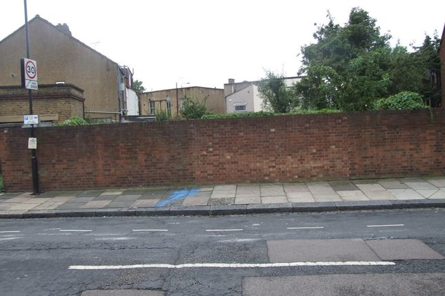 Thumbnail Land for sale in Argyle Road, London