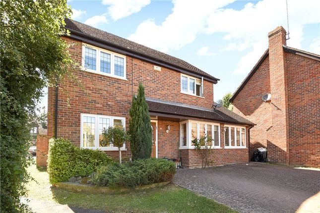 Thumbnail Detached house for sale in Deerings Drive, Pinner, Middlesex