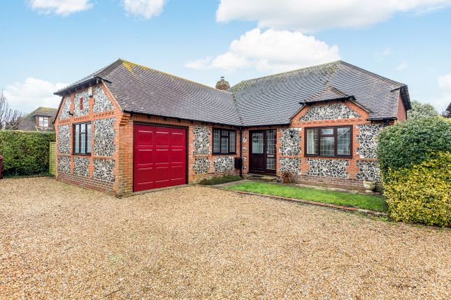 Thumbnail Detached bungalow for sale in Wellsfield, West Wittering