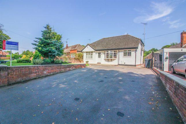 Thumbnail Detached bungalow for sale in Redricks Lane, Sawbridgeworth