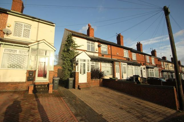 Thumbnail Terraced house to rent in Hagley Road West, Smethwick