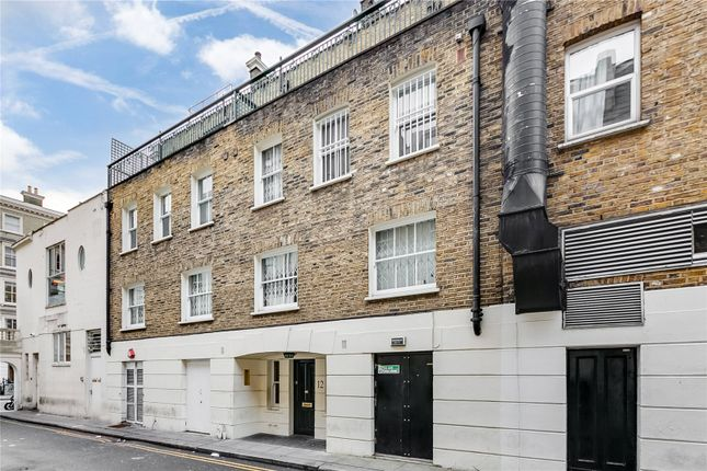 External of Stanhope Mews West, South Kensington, London SW7