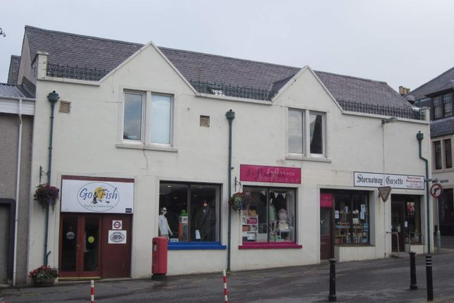 Thumbnail Retail premises for sale in 10 Francis Street, Stornoway