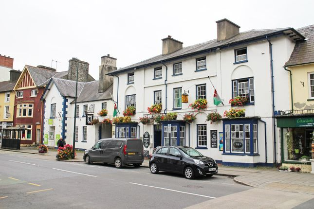 Thumbnail Commercial property for sale in High Street, Lampeter