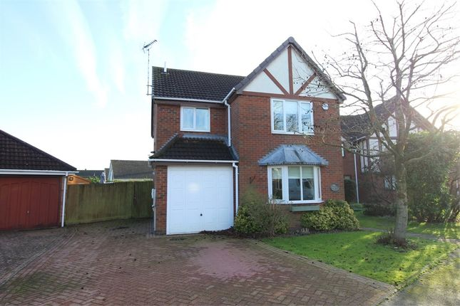 Thumbnail Detached house for sale in Almond Way, Lutterworth