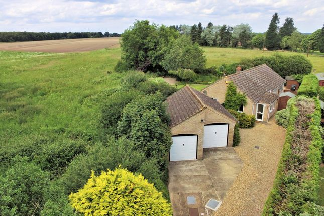 Thumbnail Detached bungalow for sale in Great Heath Road, North Elmham, Dereham