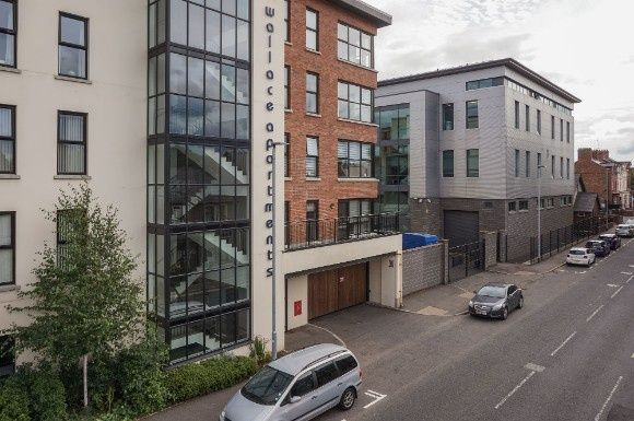 Thumbnail Flat for sale in 8 Wallace Apartments, Wallace Avenue, Lisburn