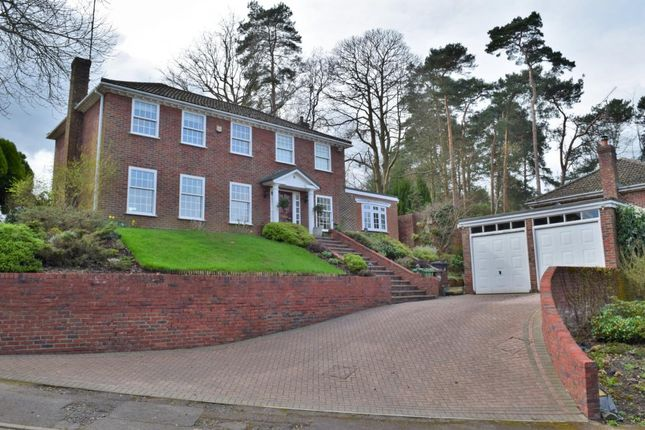 Thumbnail Detached house for sale in Bellever Hill, Camberley