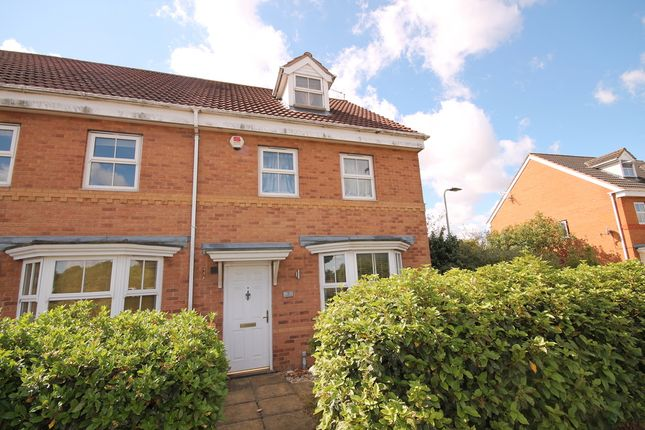 Thumbnail Town house for sale in Abbey Fields, Elstow