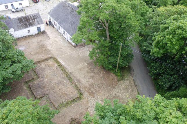 Maesgwynne Farm Estate - Aerial