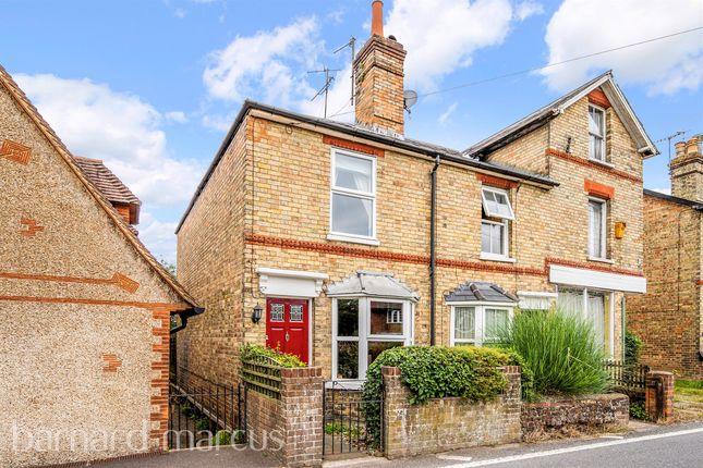 Thumbnail End terrace house for sale in Pixham Lane, Pixham, Dorking