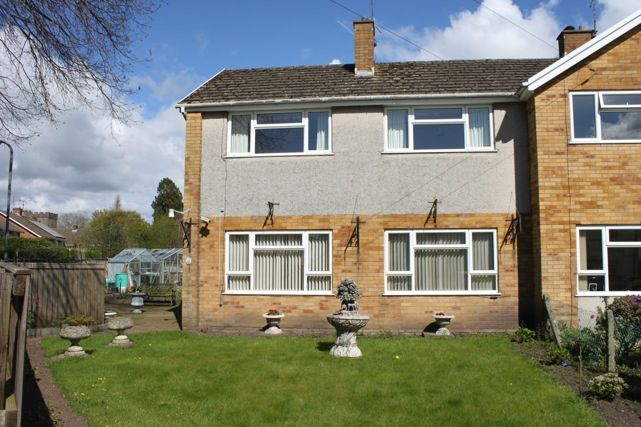 Thumbnail Semi-detached house to rent in Priory Gardens, Usk