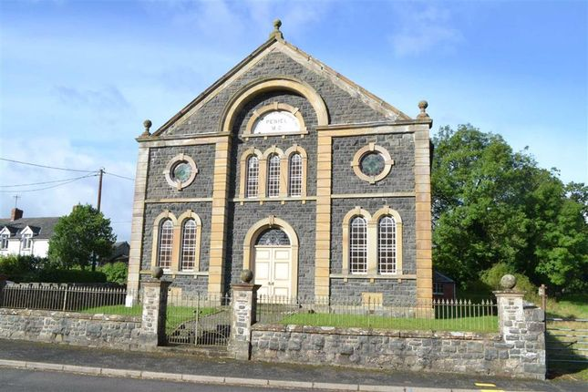 Thumbnail Property for sale in Peniel Chapel, Carno, Caersws, Powys