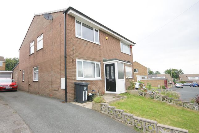 Thumbnail 3 bed semi-detached house for sale in Foxcroft Drive, Brighouse