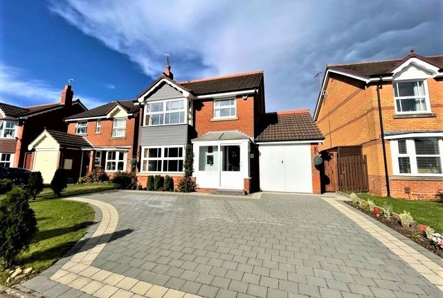 Thumbnail Detached house for sale in Glaston Drive, Hillfield, Solihull