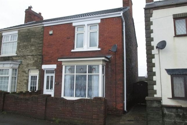 Thumbnail Semi-detached house for sale in Station Road, Gunness, Scunthorpe