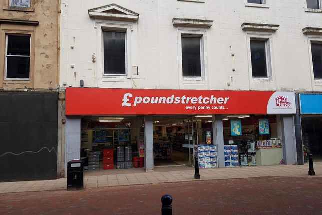 Thumbnail Retail premises to let in 150 High Street, Falkirk