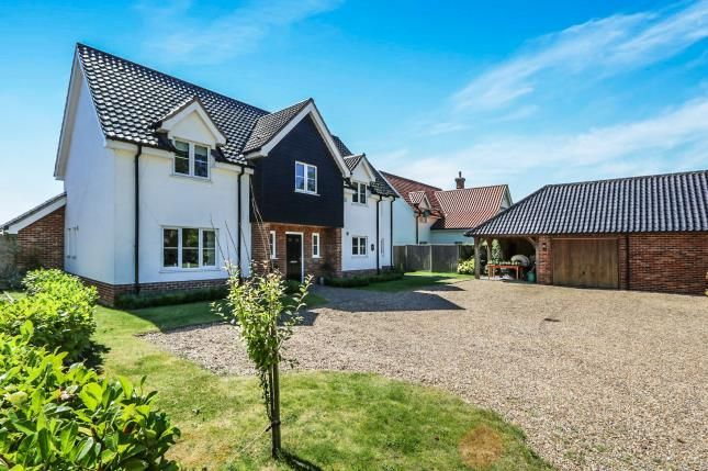 Thumbnail Detached house for sale in Bunwell, Norwich, Norfolk