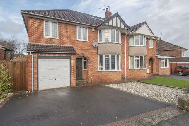 Thumbnail Semi-detached house for sale in Chandag Road, Keynsham, Bristol