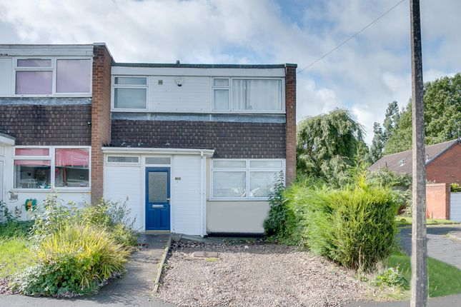 Thumbnail End terrace house to rent in Reyde Close, Webheath, Redditch, Worcestershire