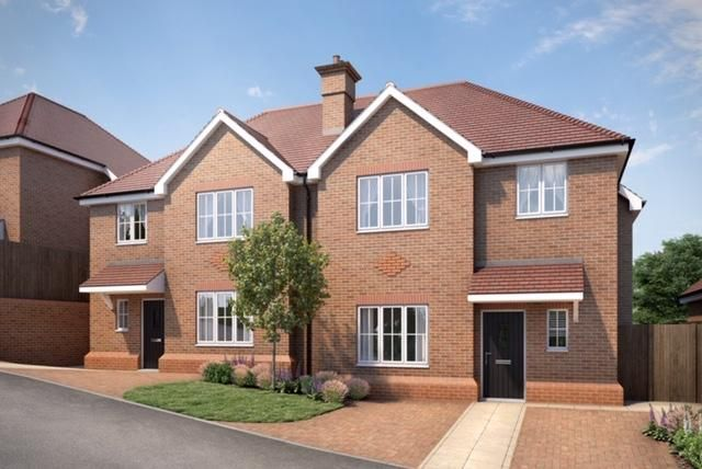 Thumbnail Semi-detached house for sale in Kingswood Place, Boxford Close, South Croydon