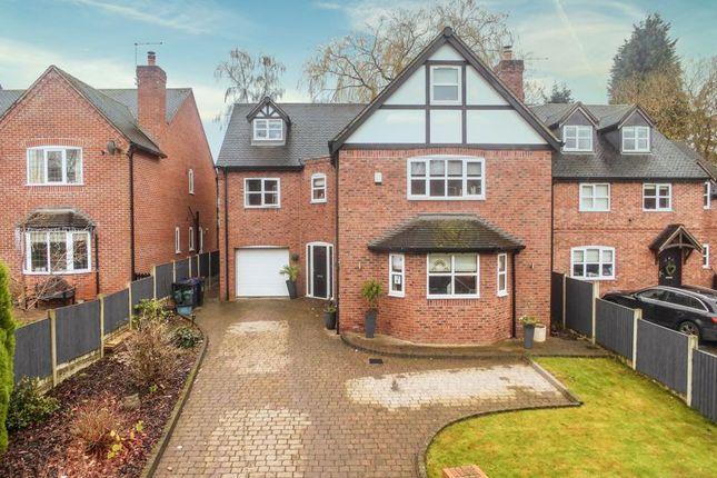 Thumbnail Detached house for sale in Lea Lane, Madeley, Crewe