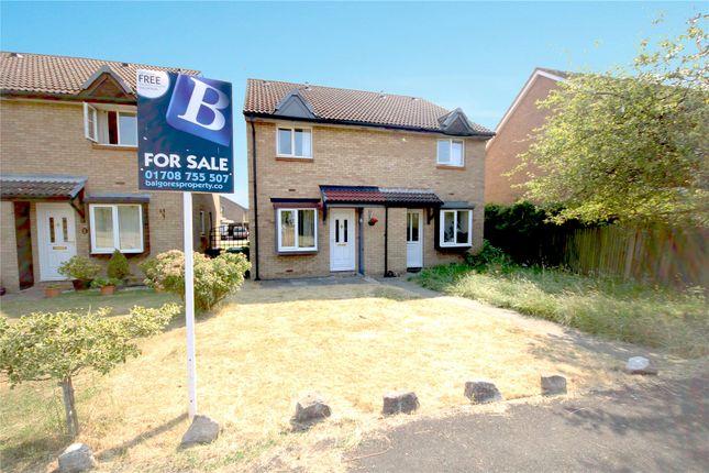 Thumbnail Semi-detached house for sale in Juniper Way, Harold Wood, Essex