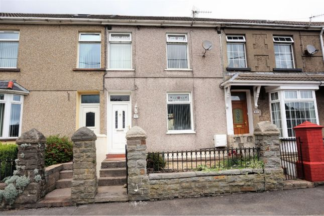 Thumbnail Terraced house for sale in Vicarage Terrace, Treorchy