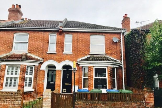 Thumbnail Flat to rent in Ampthill Road, Southampton