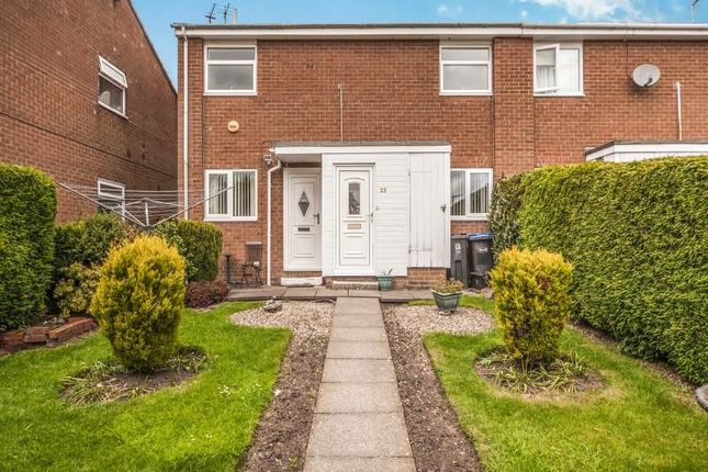 Thumbnail Flat for sale in Collier Close, Crook