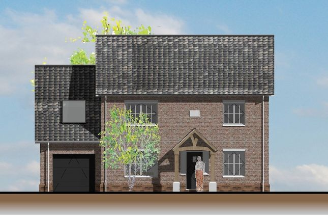 Thumbnail Detached house for sale in Northfields Lane, Westfield, Dereham