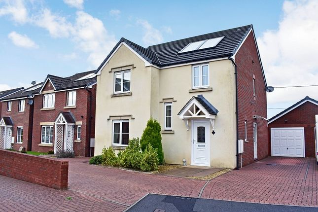 Thumbnail Detached house for sale in Clos Cae Ffynnon, North Cornelly, Bridgend.